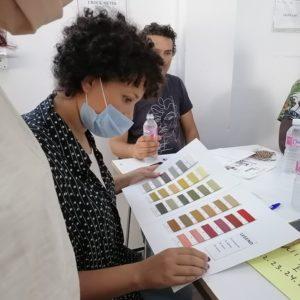 Formation à la technique de Teinture Naturelle (7)