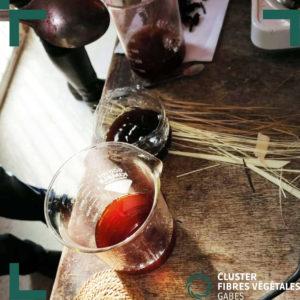 Formation en teinture naturelle de la fibre de palmier (6)