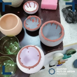 Formation les émaux à effets sur la céramique de Moknine (9)