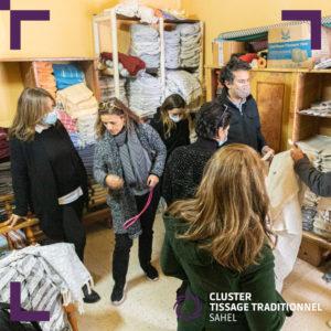 Visite atelier tissage traditionnel (1)
