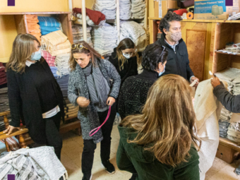 Visite atelier tissage traditionnel (1)