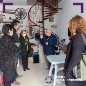 Visite atelier tissage traditionnel (2)