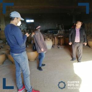 Visite ateliers de fabrication des articles en cuivre (1)