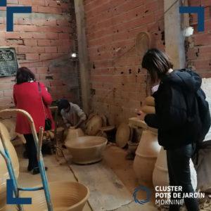 Visite ateliers de fabrication des articles en cuivre (5)